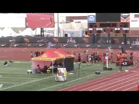 Arcadia Invitational: Girls 4 x 100