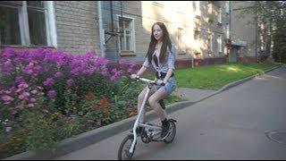 getlinkyoutube.com-Обзор китайского клона велосипеда Strida | Chineese Strida review (subtitles)