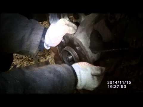 Расположение у Мерседес Vito переднего ступичного подшипника