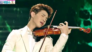 getlinkyoutube.com-2014 MBC 방송연예대상 - Henry The powerful Violin performance 헨리,바이올린 연주에 '소름' 20141229