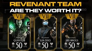 getlinkyoutube.com-NetherRealm Team MAXED OUT in Action! Mortal Kombat X Mobile
