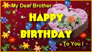 Happy birthday greeting for brother birthday ecard for dear happy birthday greeting for brother birthday ecard for dear brother youtube bookmarktalkfo Gallery