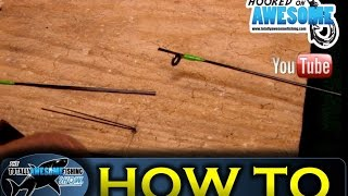 getlinkyoutube.com-How to fix a broken rod tip - TAFishing Show