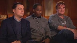 getlinkyoutube.com-'Django Unchained': Tarantino, DiCaprio, Foxx Answer Critics