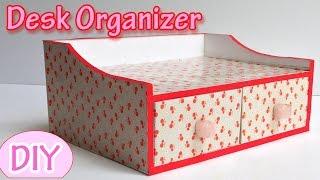 getlinkyoutube.com-How to make a Desk Organizer - Ana | DIY Crafts.