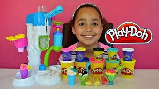 getlinkyoutube.com-Play Doh Sweet Shoppe Perfect Twist Fun Factory Review And Play | Toys AndMe