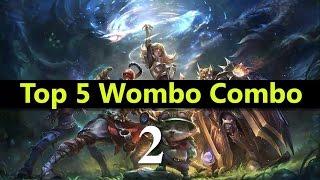 getlinkyoutube.com-Top 5 Wombo Combo League Of Legends #02   Best League Of Legends Wombo Combo compilation
