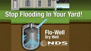 getlinkyoutube.com-How to install NDS FloWell dry well drainage system