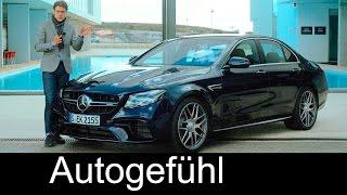getlinkyoutube.com-Mercedes-AMG E63S V8 612 hp FULL REVIEW test driven E-Class E63 AMG E-Klasse 2017/2018