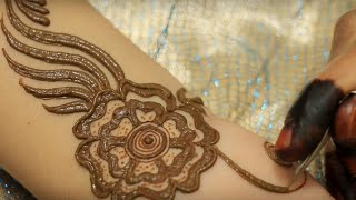 getlinkyoutube.com-New Stylish Simple Easy Mehndi Henna Designs For Beginners By MehndiArtsitica 2016 Demo