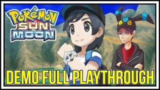 getlinkyoutube.com-MIMIKYU SMK?! Pokemon Sun and Moon Demo FULL PLAYTHROUGH! Pokemon Sun and Moon Demo Gameplay! #120
