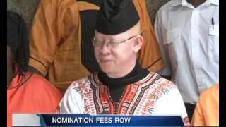 Nomination fees Row