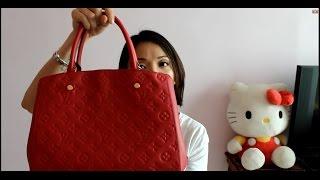 getlinkyoutube.com-Louis Vuitton Montaigne MM - Bag Review
