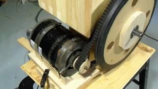 getlinkyoutube.com-Motorizing the bandsaw