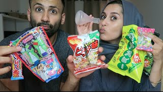 getlinkyoutube.com-TASTING AMAZING JAPANESE SNACKS!