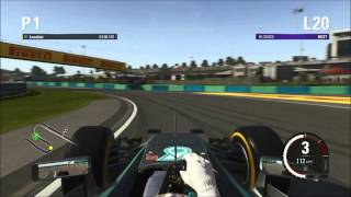 getlinkyoutube.com-F1 2015 -  Hungary Hotlap & Setup - 1:19.749