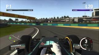 F1 2015 -  Hungary Hotlap & Setup - 1:19.749