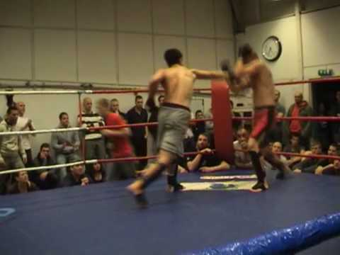 shootfighting SM-final 2008 - 70 kg Rond 1
