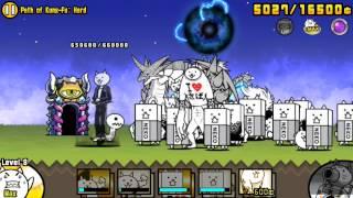getlinkyoutube.com-Battle Cats Kung-Fu Awakens!