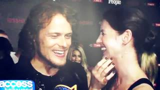 getlinkyoutube.com-Sam & Cait | Jamie & Claire - Nothing Really Matters - Outlander