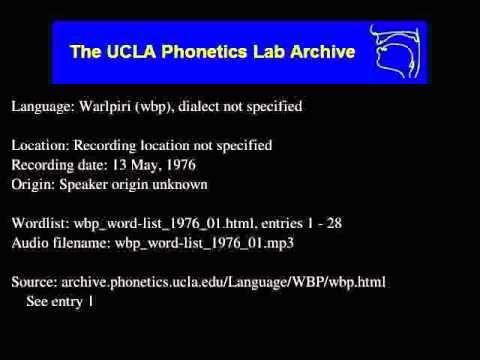 Warlpiri audio: wbp_word-list_1976_01
