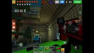 getlinkyoutube.com-Pixel Gun 3D: ARMOUR!  I have bought all the armour, which gives me 6 armour in total! I think th...