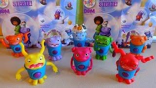 getlinkyoutube.com-2015 DreamWorks HOME Toys Complete Set in Happy Meal McDonalds Europe Unboxing