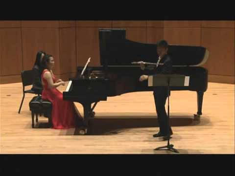 Sonata for Violin (flute) and Piano by Gabriel Fauré - II, III & IV Movements