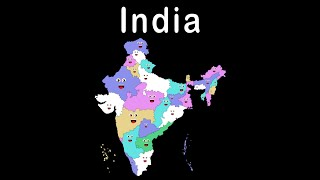 getlinkyoutube.com-India's States and Capitals Song for Kids
