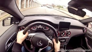 getlinkyoutube.com-Mercedes A45 AMG Performance Exhaust Loud Driving!