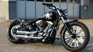 getlinkyoutube.com-Harley Davidson Breakout FXSB Softail Custom