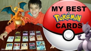 getlinkyoutube.com-My Best Pokemon Cards: Raikou & Suicune & Entei Legend, Charizard Lv X, Electivire Lv X! Jenna Em