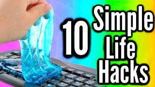 10 Simple Life Hacks Everyone Should Know!