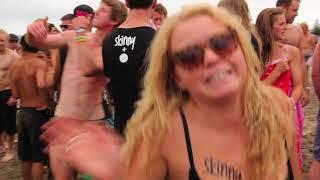 getlinkyoutube.com-BW Skinny Dip - Guinness World Record Attempt Gisborne 2012 (UnCensored)