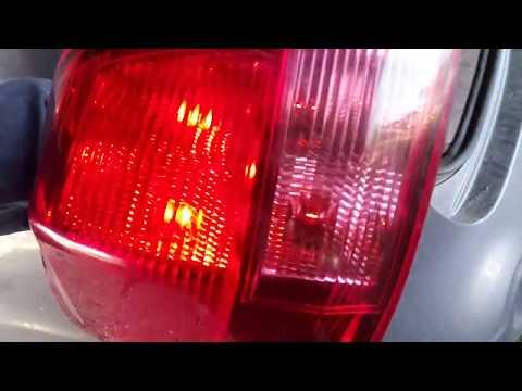 Ниссан Кашкай  2.0 бензин - Правильное снятие заднего фонаря, проблема с электрикой
