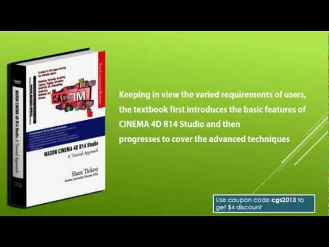 CINEMA 4D R14 Studio book from CADCIM Technologies