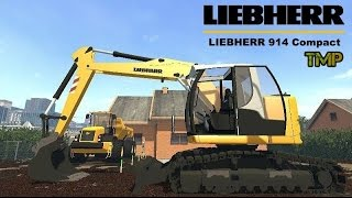 getlinkyoutube.com-Farming Simulator 15 Liebherr 914 Compact Excavator BY TMP