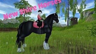 Star Stable - New Shire horses