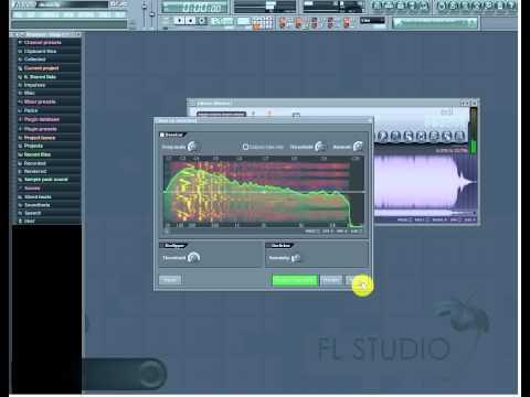 cara buang musik pada lagu  di fl studio