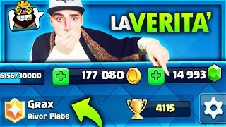getlinkyoutube.com-BECCATO GRAX con 14000 GEMME !!! GEMMING Clash Royale