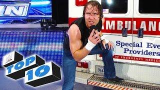 getlinkyoutube.com-Top 10 WWE SmackDown moments - January 2, 2015