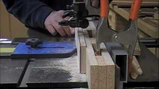 getlinkyoutube.com-Woodworking - How to Adjust for Band Saw Blade Drift - Workshop Techniques