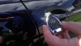 getlinkyoutube.com-PART 2 Mercedes Benz C class W204 Handy Features - Locking System