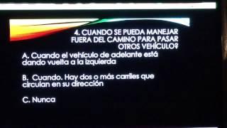 getlinkyoutube.com-Examen de manejo para hispanos  parte 2