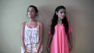 getlinkyoutube.com-Catch Me- Demi Lovato Cover by Niki and Gabi