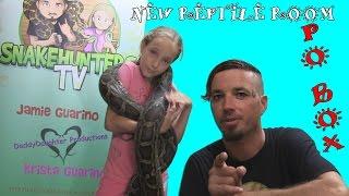 getlinkyoutube.com-New Reptile Room - P.O. BOX : SnakeHuntersTV