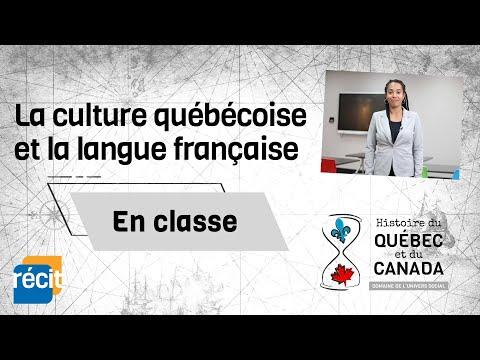 La culture québécoise et la langue française