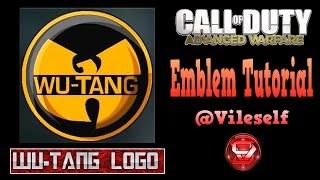 getlinkyoutube.com-Advanced Warfare Emblem Tutorial: Wu-Tang logo