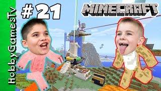 HobbyKids Minecraft 21 Creative World Home Tour HobbyGamesTV