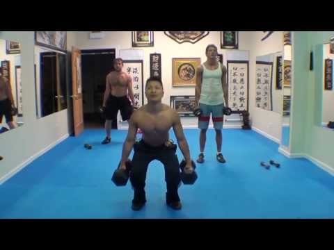 Complete Martial Arts Exercise Routine with Sifu Freddie Lee - 6/19/13